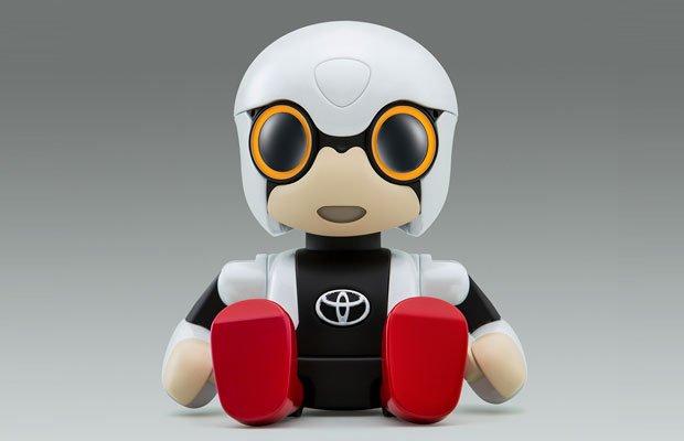 Toyota's Kirobot Robot