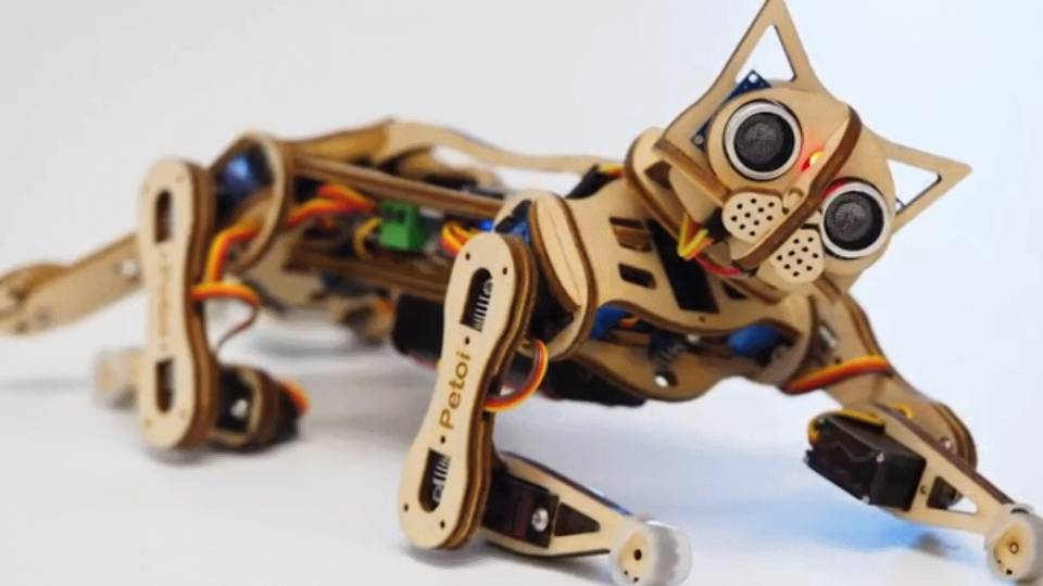 Petoi-Nybble-Robot