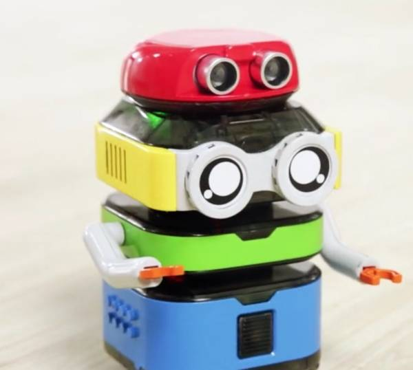 tacobot stackable coding robot