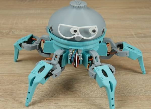 vorpal robot hexapod opensource