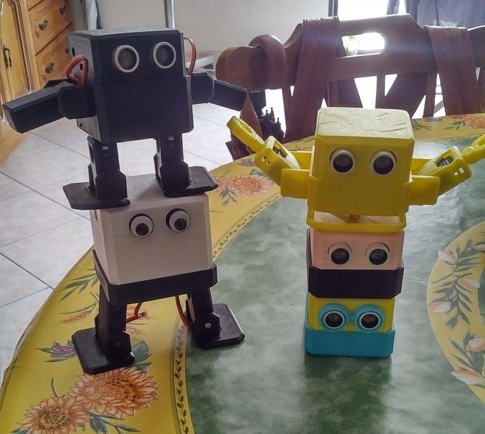 0691d5a3808 ... Otto Small Robots: Otto Zero + ARMS = NOVE ! Robotics Is Fun!