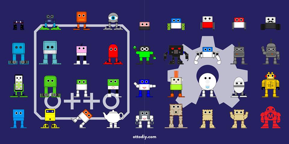 otto diy robotic challenge