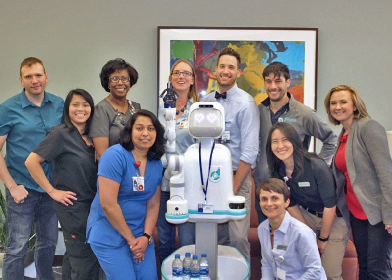 Moxi-by-Diligent-Robotics-at-Texas-Health-Dallas-Moxi-Innovation-Team-1