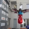 Researchers shoots robotic drones in the air for fast deploy