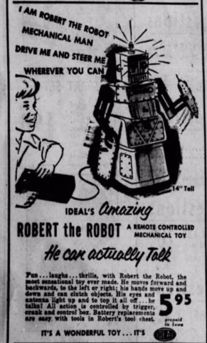robert the robot flier 1950