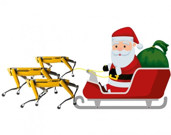 christmas santa claus spot boston dynamics