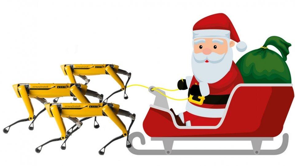 christmas santa claus spot boston dynamics