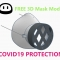 3D printed reusable mask for COVID-19 Protection