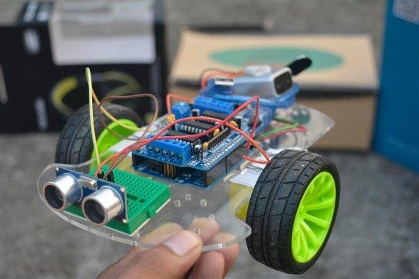 build your robot steps