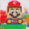 Robot Mario plays Super Mario