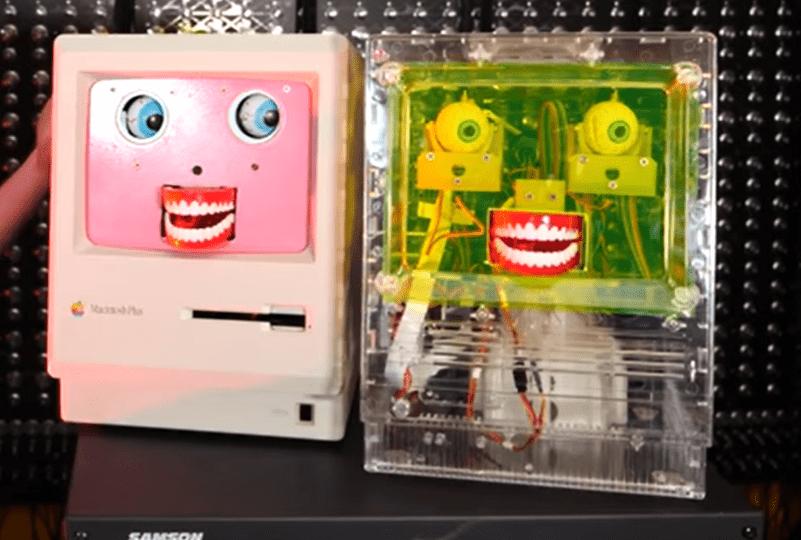 KOSMO – Facial Recognition Robot with a Furby Brain