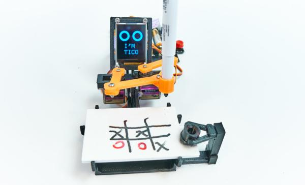 TICO - Tic -Tac-Toe Arduino Robot PlayRobotics